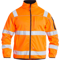 FE Engel softshelljakke 1153, EN 20471 orange, KL.3, Str. 4X