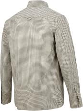 Snickers ternet skjorte, 8507 AllroundWork, kaki/sort, str.