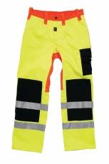 WorkZone EN 471 buks, neon gul, str. C50/88