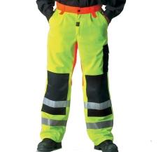 WorkZone EN 471 buks, neon gul, str. C54/96