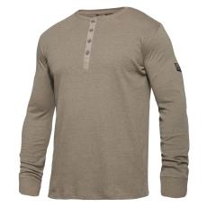 Explore Grandad L/S T-shirt, brun, str. 3XL