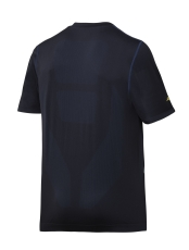 Snickers T-shirt 2519 FlexiWork 37.5® med print, navy, Str.