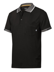 Snickers poloshirt 2724 AllroundWork 37.5, sort, str. L
