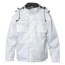 COMBAT pilotjakke, hvid, str. L