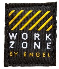 WORKZONE Tech Zone quiltet jakke 0252, sort, str. 3XL