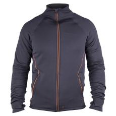 Dunderdon sweatshirt, stretch, S27, navy/orange, S