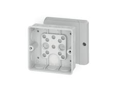 Membrandåse 4 mm² uden klemme grå