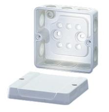 Membrandåse 2,5 mm² uden klemme