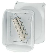 Kvik Forgreningsdåse KF2525G 255x205 mm M25-40 5x10-25 mm² g