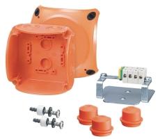 Branddåse Kvik FK0402 1,5-2,5 5P, orange 104 x 104 mm