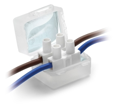 Raytech Samledåse med gel 30x27x23 mm (4 stk blister)