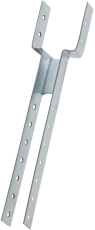Toplægtebeslag Type RC1-40, 40 x 253 x 1,5 mm