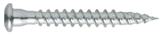 Beslagskrue, elforzinket, TX20, 5,0 x 25 mm, 250 stk.
