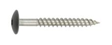 Facadeskrue, rustfri A2, DH, TX20, 4,5x40 mm, antracit, 200