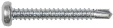 Pladeskrue elforzinket, PH, TX25, 4,8 x 25 mm