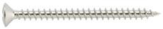 VVS skrue, rustfri Kv. A2, 4,0 x 40 mm, 25 stk.