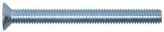 Maskinskruer elforzinket, US, PZ, M4 x 20 mm, 100 stk.