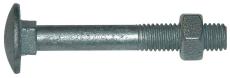 Bræddebolt med møtrik DURAMAX™ 1000, M6 x 80 mm, 100 stk.