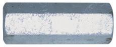 Forbindelsesmøtrik, varmforzinket, M12 x 50 mm, 50 stk.
