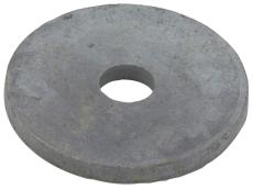 Runde skiver, varmforzinket, Kv. 4.6, M12 - Ø50, 50 stk.