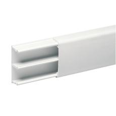 OptiLine minikanal 18x35 2 rum, hvid, PVC