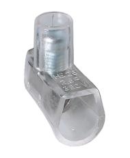 Samlemuffe 2,5 mm² enkelt klar med lige kærv (100)