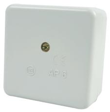 Forgreningsdåse AP6 grå IP20