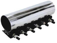 AVK 111-131/450 mm bandegemuffe med EPDM-pakning, UFS