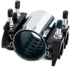AVK 111-131/300 mm bandagemuffe med EPDM-pakning, UFS