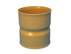 Wavin 315 mm udvendig dobbeltmuffe, med gummiringe