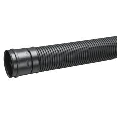 Uponor DN100 110/95 x 4000 mm PE SN8 fuldslidset rør med muf