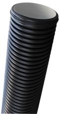 400 x 1200 mm PP-målerbrøndrør, dobbeltvægget, SN8